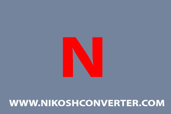 Nikosh unicode Converter
